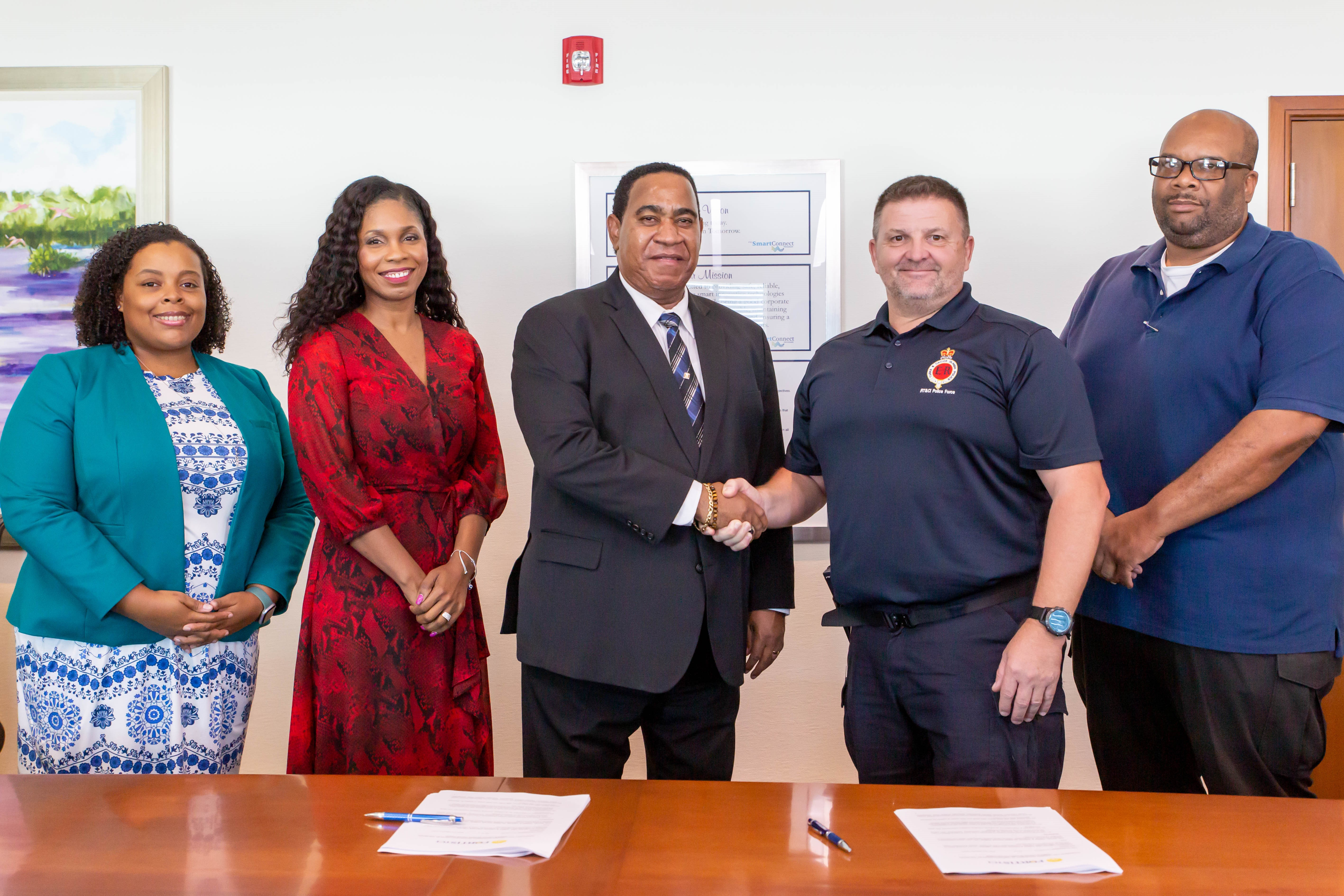 FortisTCI And The Royal Turks And Caicos Islands Police Continue Partnership For More CCTV Cameras
