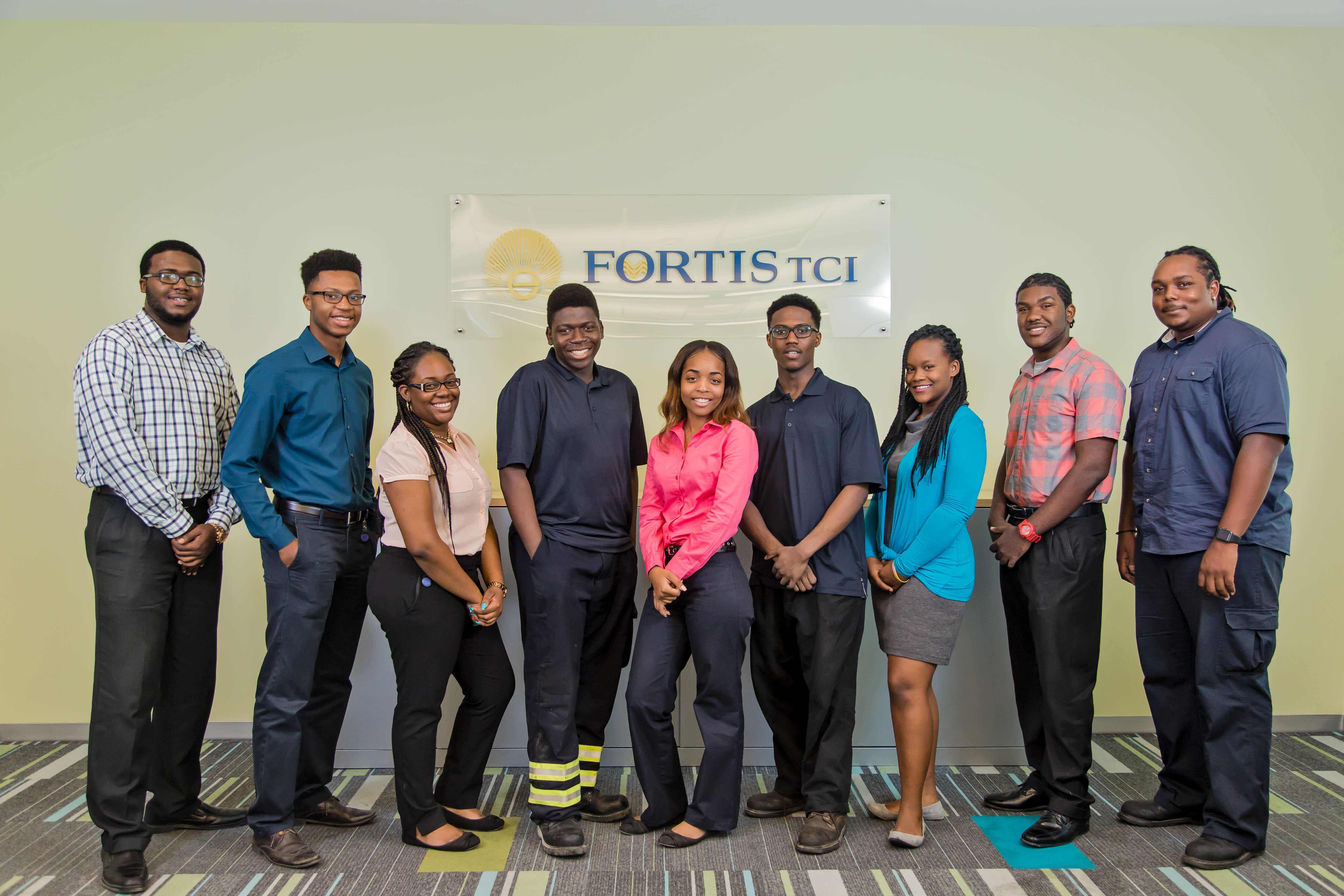 The TCI Future Workforce Explores FortisTCI through Summer Internship Programs