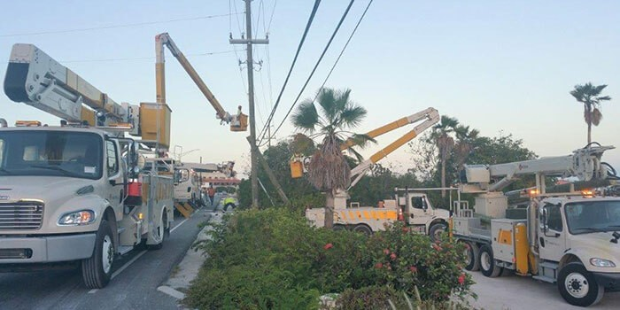 FortisTCI Linemen Carry-Out Extensive Repairs Following   Major Accident