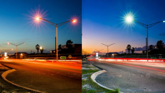 FortisTCI Leeward Highway LED Streetlight Conversion Project  Completed