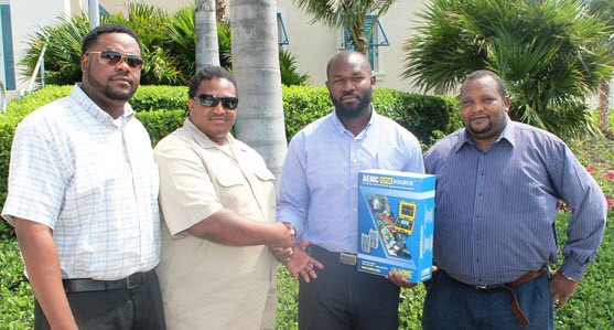 FortisTCI Donates New Electrical Tester to TCIG Planning Department