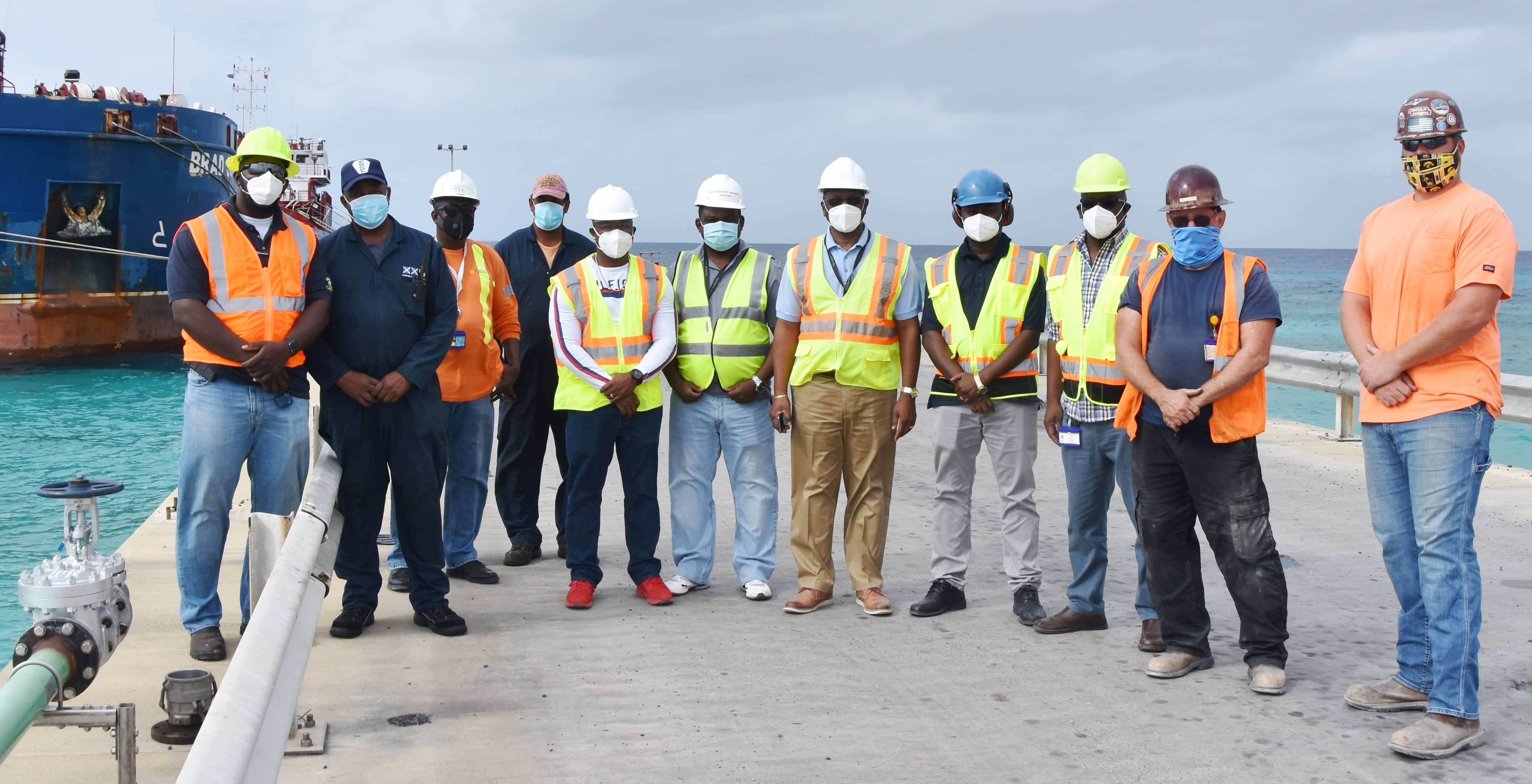 FortisTCI Commissions New 1,500-Foot Fuel Pipeline in Grand Turk