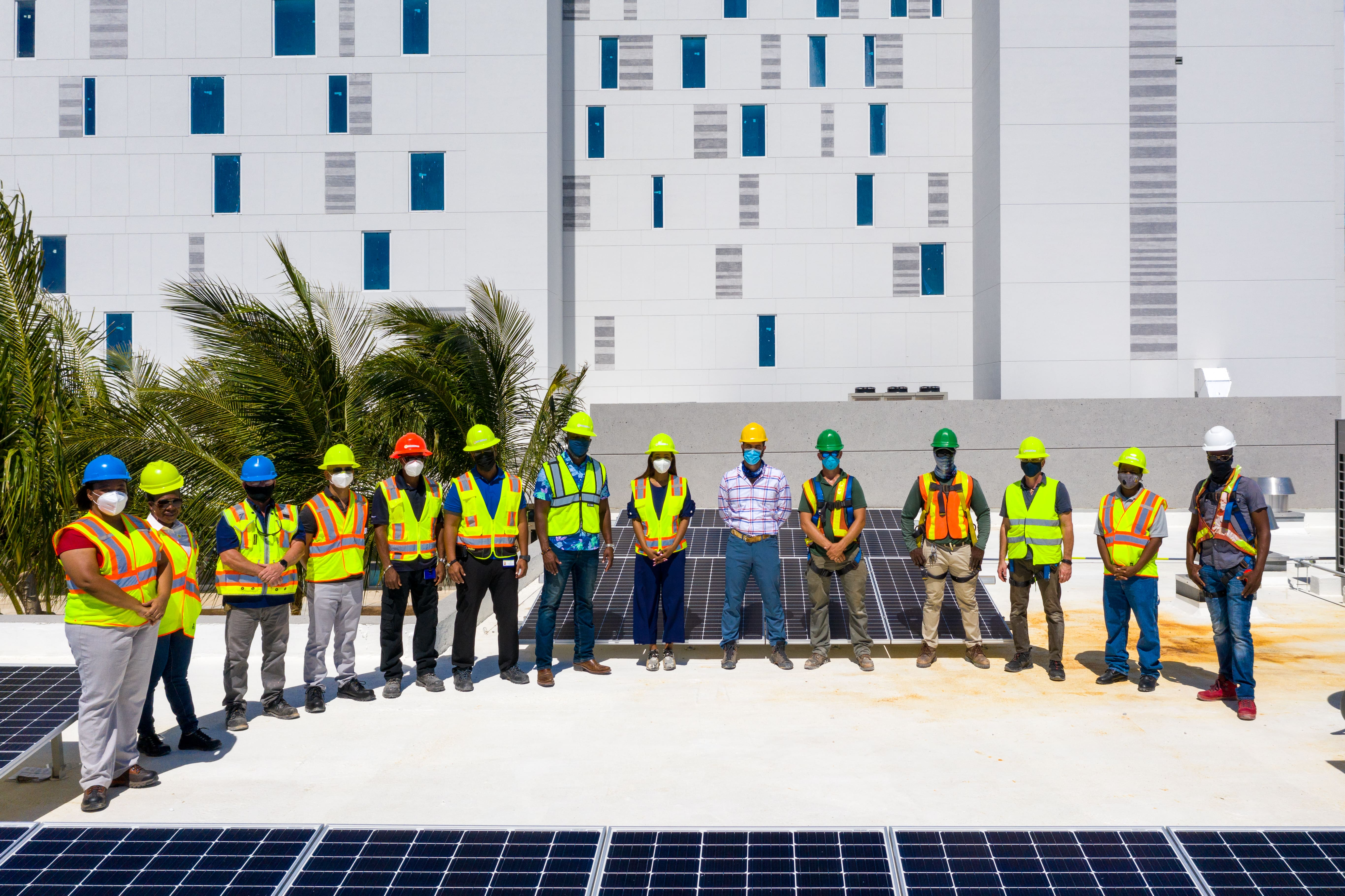 FortisTCI Commissions Rooftop Solar PV System with the Ritz-Carlton Turks and Caicos