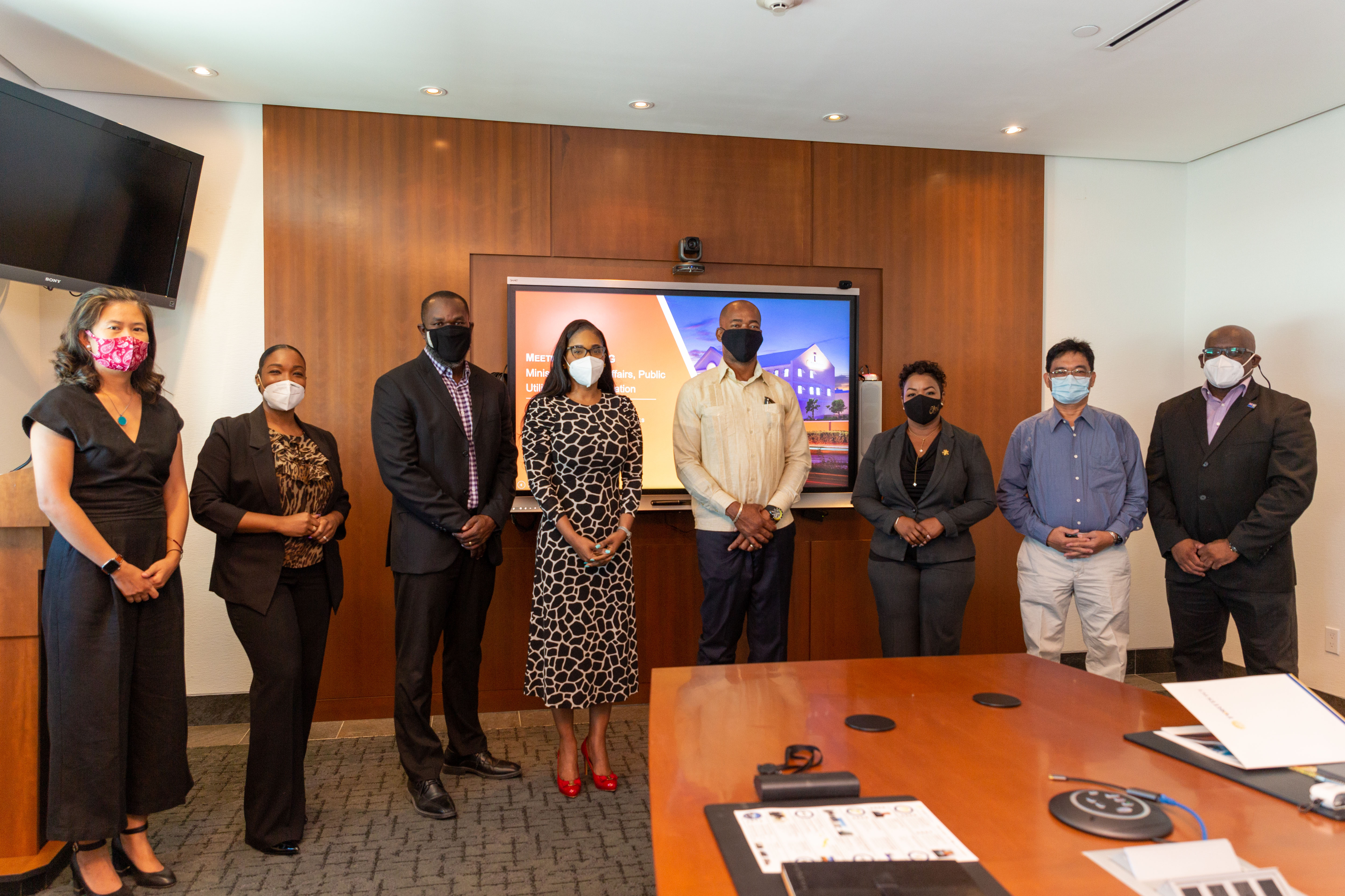 FortisTCI Welcomes Minister of Home Affairs, Public Utilities and Transportation