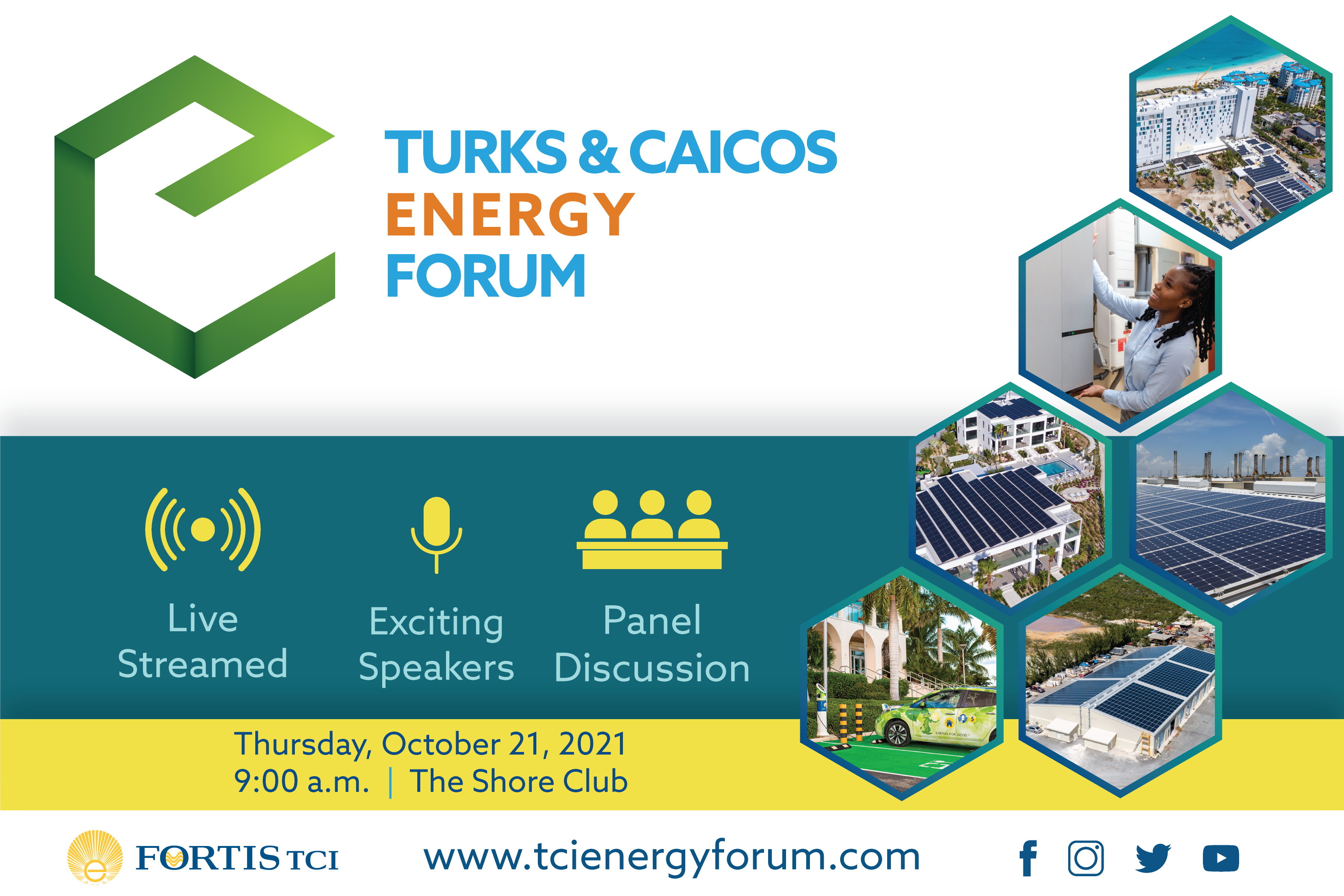 FortisTCI to Host Turks and Caicos Energy Forum on October 21