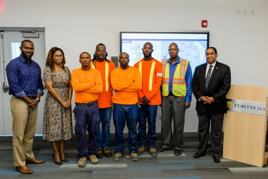 FortisTCI Sends Crew To Dominica To Help Restore Electricity